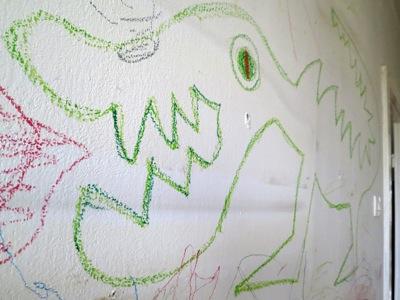 zielony smok